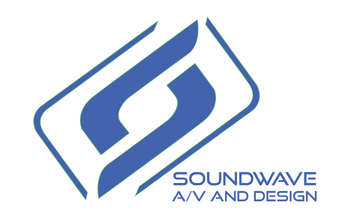 Soundwave A/V and Design Logo