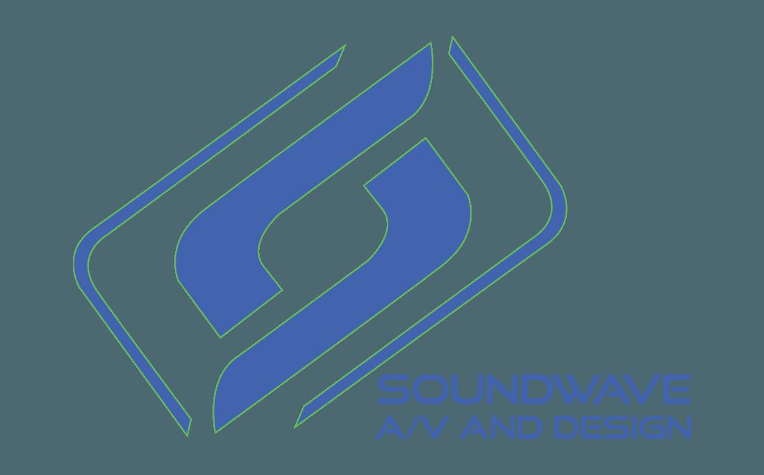 Soundwave A/V and Design Logo